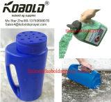 Трасучка соли Wsp-09, семя руки и бутылка распространителя удобрения