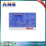 Schutz-Karte HF-RFID mit Gutschrift-in Scheckkartengrößequalitätswahl