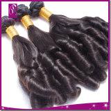 Prolonge de cheveux humains de Vierge d'onde de Funmi de 3 parties