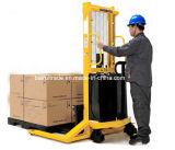 Halb elektrischer Ablagefach-Gabelstapler für Verkauf
