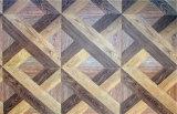 étage de parquet composé carré en bois solide de l'art 450 * 450 * 15