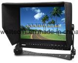 방송 Sdi는 15 인치 LCD 모니터를 입력했다