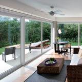 Цветастая алюминиевая внутренность шторок сползая окна опционная (FT-W85)