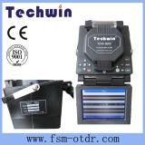 Splicer ótico Tcw-605c da fusão do alinhamento de Techwin