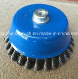 6 polegadas - Quality elevado Twist Knot Bowl Cup Brush (YY-587)