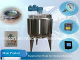 Steel inoxidável Pressure Reator Steam Heating Reator para Chemical