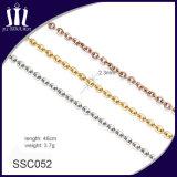 Collana Pendant del metallo di alta qualità di energia su ordinazione O della catena