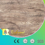 Vinile 12.3mm E1 HDF Walnut Hand Scraped Laminated Wood Flooring