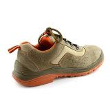 Ботинки безопасности пальца ноги самой лучшей популярной кожи замши OEM стальные (UF-113)