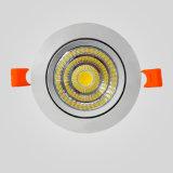 LED Downlight 3W/5W/7W/12W가 만들 에서 중국 LED 점화 옥수수 속에 의하여 아래로 점화한다
