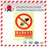 Film van de Rang van de Reclame van het Type van huisdier de Weerspiegelende Afdekkende voor de Reclame van Tekens die Raad waarschuwen (TM3100)