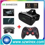 Controlador do jogo de Bluetooth + vidros Vr Shinecon da realidade virtual 3D
