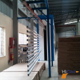 Puder-Beschichtung-Zeile für Beschichtung-Aluminium-Profil beenden