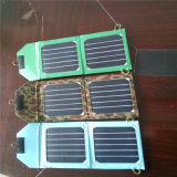 bolso móvil plegable solar del cargador de 6W Sunpower para el libro eléctrico del iPad