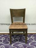 Silla de lujo del restaurante de madera sólida con el asiento tapizado (FOH-BCC32)