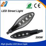 Buon indicatore luminoso di via esterno di qualità 200W IP65 LED