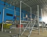 Casa prefabricada impermeable y a prueba de humedad del chalet del marco de acero