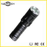 Langfristige Zeit-nachladbares Fackel-Licht Aluminiumlegierung-Samsung-LED (NK-2667)