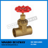 200 extranjero Brass Gate Valve con Bottom Price (BW-G01)
