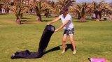 2016 Form-populäre faule Kneipe-aufblasbares Luft-Schlafsack-Sofa-Couch-Bett für Strand/Wasser
