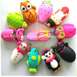 China 29 ml 3D Animal Portable Silicone Perfume, Cosmetic Bottle Holder
