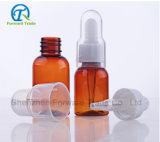 бутылочное стекло капельницы 20ml-50ml для эфирного масла с серебряной крышкой