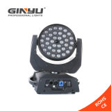 Indicatore luminoso capo mobile di RGBW 36X12W LED con colore mescolantesi di Digitahi