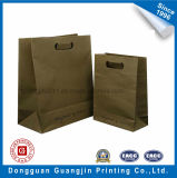High Quality Brown Kraft Paper Bag Die Poignée de coupe