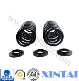 Mola de bobina preta personalizada da mola de compressão do revestimento