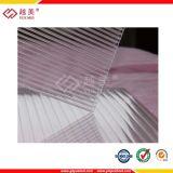 ISO-9001:2015 prüfte transparentes Polycarbonat-Höhlung-Blatt