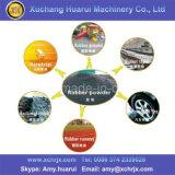 Überschüssiger Reifen, der verwendeten Gummireifen-Scherblock/verwendete Gummireifen-Ausschnitt-Maschine für Verkauf aufbereitet
