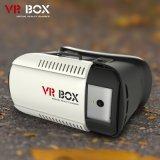 rectángulo 1.0 del receptor de cabeza 3D Vr de Vr de la realidad virtual de los vidrios 3D para Smartphone 3.5-6.0