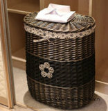 왕 Storage Wicker Basket, Totel를 위한 Good 및 Home.