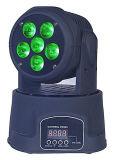 indicatore luminoso capo mobile della lavata di 6PCS 6in1 per illuminazione del LED
