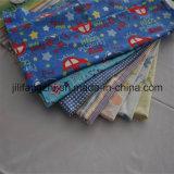 中国の工場Cotton/Tc/CVCフランネルの印刷され、染められたフランネルファブリック