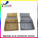 Qualität Soem-Entwurfs-verpackender schwarzer Schmucksache-Papierkasten