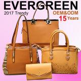 15 anos de fabricante das bolsas, OEM/ODM, com 2 fábricas & 3, indicador novo na sala de exposições grande, boa vinda da amostra 500+ para visitar o Evergreen (SY7181)