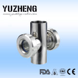 중국에 있는 Yuzheng Cross Sight Glass Supplier