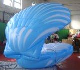 Vente chaude annonçant le Seashell gonflable pour la décoration