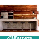 ダイニングテーブル(AIS-K218)との開いた様式の台所食器棚デザイン
