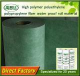 Het hoge Waterdichte Membraan van de Vezel van het Polypropyleen van het Polyethyleen van het Polymeer