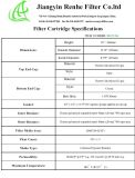 Feuchtigkeit-Serien-Gasturbine-Eingangs-Filter