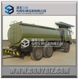 Roadの砂漠All Wheel Drive 6wd Refuel Truck Dongfeng 8000-16000L Fuel Tank Truckを離れた6X6 Army