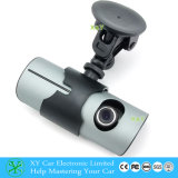 Enregistrement de données de véhicule DVR avec GPS, enregistreur de l'appareil-photo DVR de véhicule avec la lentille duelle Xy-X3000