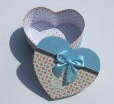Juguetes cariñosos de la forma del corazón que empaquetan las cajas