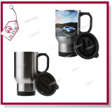 Acier-Full de 14oz Silver Stainless Sublimation Mugs par Mejorsub