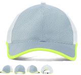 Chapéu e tampão cor-de-rosa de basebol do esporte do golfe das meninas da borda da guarnição