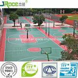 L'alto campo da pallacanestro di tasso di rimbalzo mette in mostra la pavimentazione dalla Cina