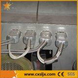 Extrusora do PVC do parafuso do gêmeo da série de Sjsz
