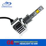 Linterna auto del coche de la iluminación 30W 3200lm H3 LED